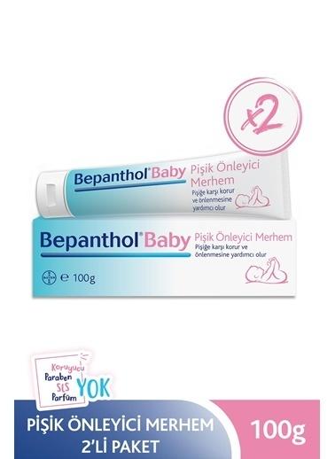 Bepanthol Bepanthol Baby Pişik Önleyici Merhem 100 Gr 2Li Paket Renksiz